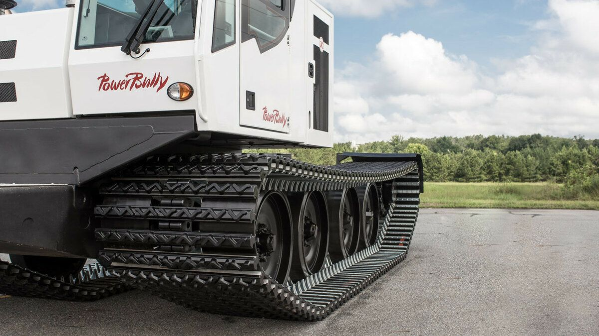 PowerBully track carrier track view